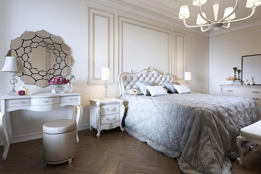 Sypialnia W Stylu Glamour Eleganckie I Wyrafinowane